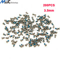 200PCS Original Replacement Screws 3.5mm Screws for Samsung Galaxy Note 1 Note 2 Note 3 note 4 Screws Set Kit