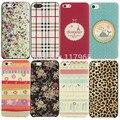 Para apple iphone 5c case flor floral listrado leopard panda pintado tampa traseira mobile phone case shell capa case ec181 EC184