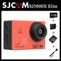 Оригинал SJCAM SJ5000X Элитный WiFi 4 К действий камеры спорта водонепроницаемый SJ cam + Дополнительная 1 шт. Аккумулятор + Зарядное Устройство + монопод + 32 ГБ Карты Памяти