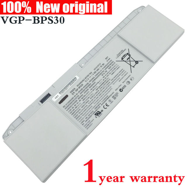 New original VGP-BPS30 Laptop Battery for SONY VAIO BPS30A SVT11 SVT13 T11 T13  SVT131 SVT131A11T  SVT111A11W svt13128ccs