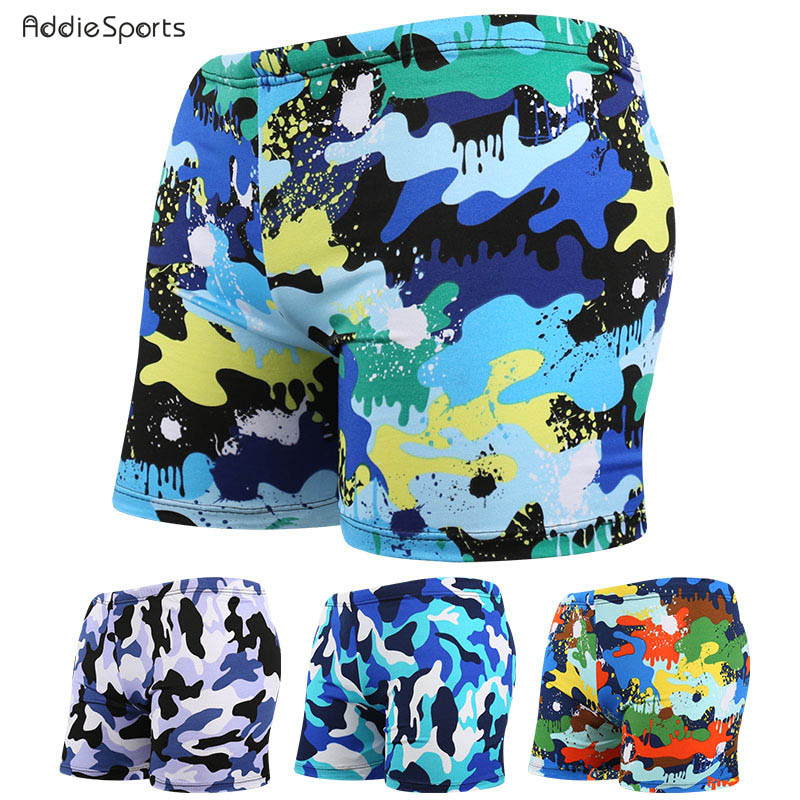 Mens swimming trunks New arrival Beach shorts Varied print plus size Obesity Professional swimming High-quality trunks A18149