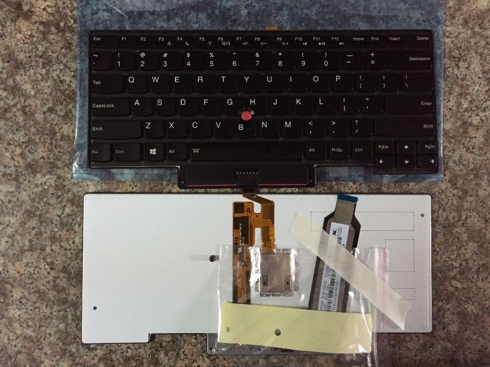 New  Keyboard  FOR LENOVO FOR IBM  FOR  thinkpad X1 carbon   X1C US laptop keyboard  Backlight original laptop keyboard for ibm lenovo thinkpad t460p us keyboard 00ur395 free shipping
