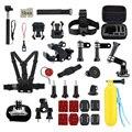 Acessórios gopro selfie vara monopé acessórios kits de câmera comum básico para a câmera gopro, SJ Cam, e câmera yi xiao mi