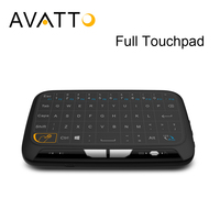 AVATTO 2017 NEW H18 Full Touchpad Mini Keyboard 2 4GHz Gaming Touch Pad Wireless Air