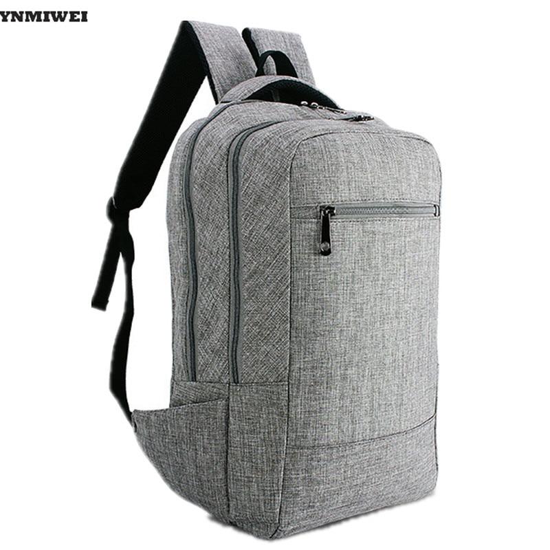 YNMIWEI Laptop Backpack With Zippers For 11.6 13.3 15 inch Notebook PC Rucksack Mochila Bag For Men Women Travel School Bags green waterproof backpacks travel bag 11 15 6 inch notebook laptop backpack men travel bags women male mochila escolar rucksack