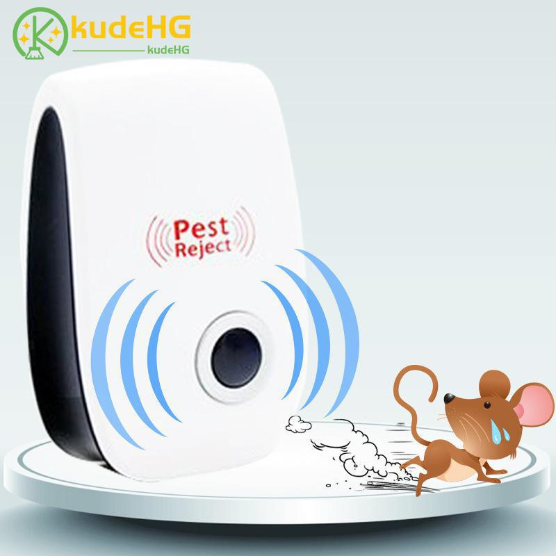 Electronic Pest Ultrasonic Enhanced Version Anti Mosquito Insect Mouse Pest Repellent Repeller US Plug Electronic Pest Ultrasonic Enhanced Version Anti Mosquito Insect Mouse Pest Repellent Repeller US Plug