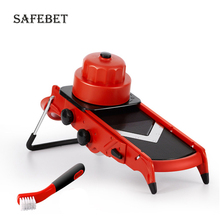 Kitchen Accessories Vegetable Cutting Machine Mandolin Slice Manual Planer Adjustable Thickness Sliced Fruit and Tools