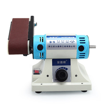 Desktop Multi-function Belt Machine Metal Jade Engraving Machine Table Grinding Machine Polisher Woodworking SD3E