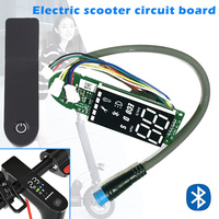 2019 New Bluetooth Dashboard Adapter Circuit Board Electric Scooter Parts with Cover for Xiaomi M365 Pro ALS88