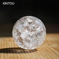 XINTOU Хрустальный лед трещина шар домашний декоративный стеклянный мраморный водяной фонтан Humidifie шар фэн-шуй фонтаны Волшебная Сфера шары