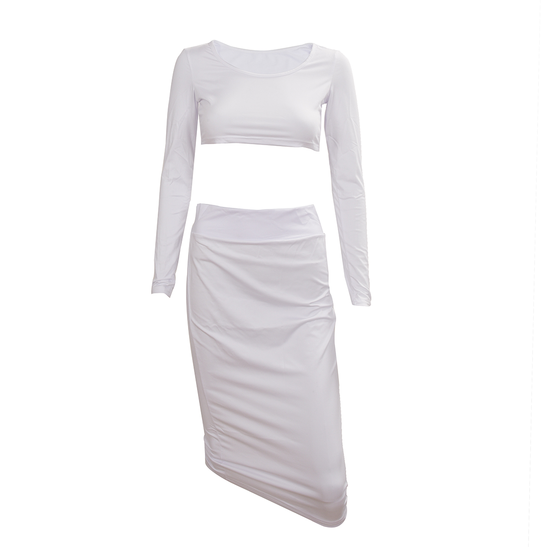 Compare Prices on White Lace Pencil Skirt with Crop Top- Online ...