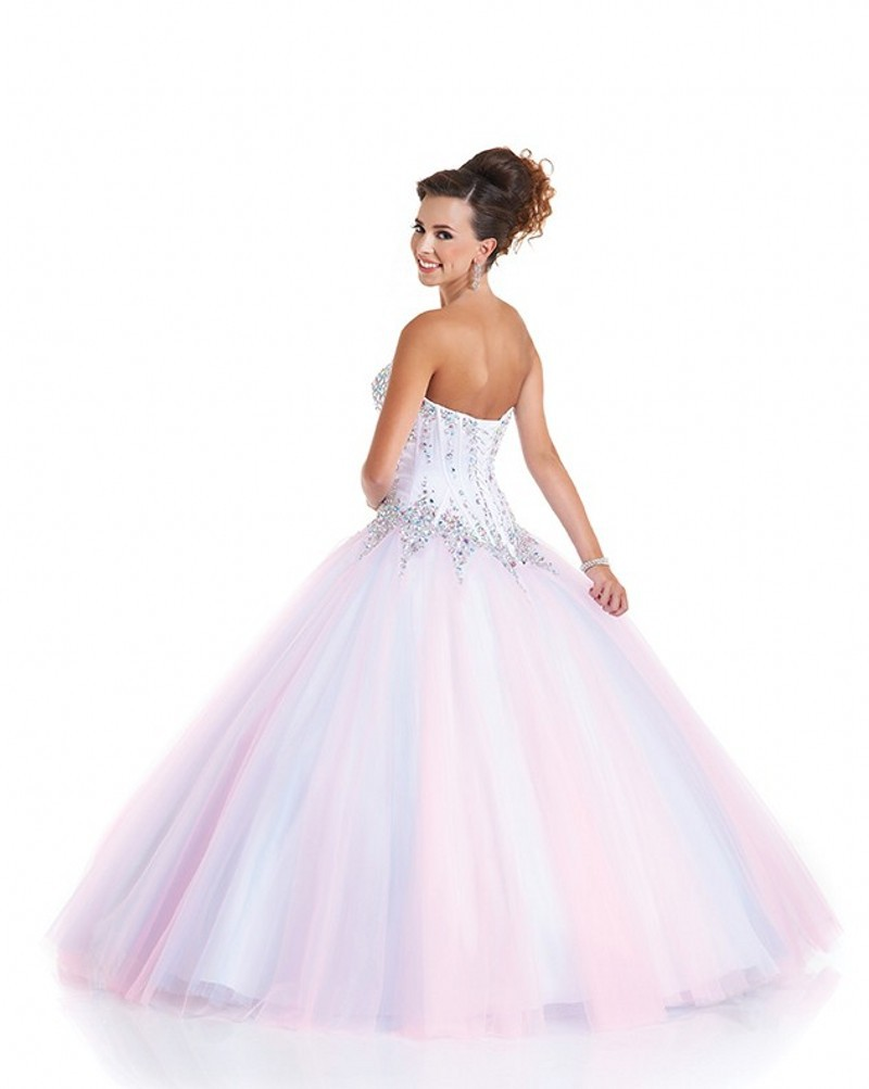 1ed69950 Stunning Beautiful Cinderella Quinceanera Dresses Pink Tulle Ball Gown  Quinceanera Dresses Corset Beaded Top Vestido De 15 Anos-in Quinceanera  Dresses from ...