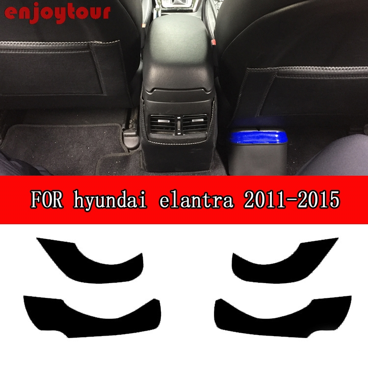 Car  pads  front rear door  Seat Anti-kick mat  Car-styling Accessories for Hyundai Avante Neo Fludic  elantra i35 2011 -2015