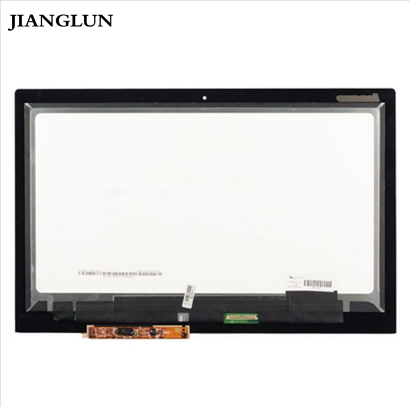 JIANGLUN 13.3'' LCD Assembly Touch Screen + Digitizer For Lenovo Ideapad Yoga2 Pro 20266 11 6lcd screen touch digitizer assembly for lenovo ideapad yoga 2 11 1366x768