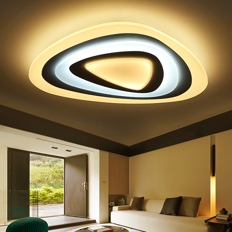 Surface Mounted Acrylic Modern Led Ceiling Lights For Living Room Bedroom Dimming Ceiling Lamp light fixtures