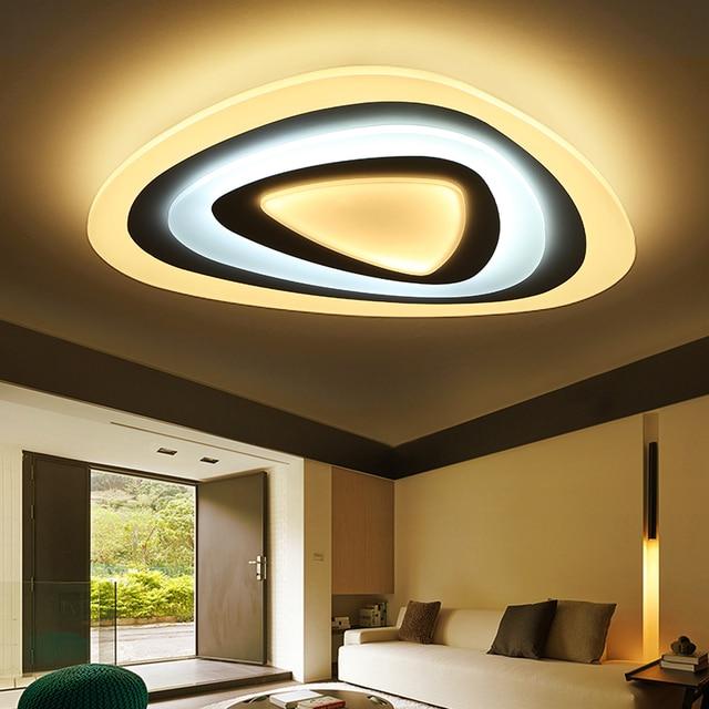 Wundervoll Aufbau Acryl Moderne Led Deckenleuchten Für Wohnzimmer Schlafzimmer Dimmen  Deckenleuchte Leuchten Leuchte