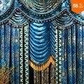 парад, баннеры, плетение ткани, неделя моды топ мода вышивка ткань очень толстый для пальто или платье вышивание также шторы шить
