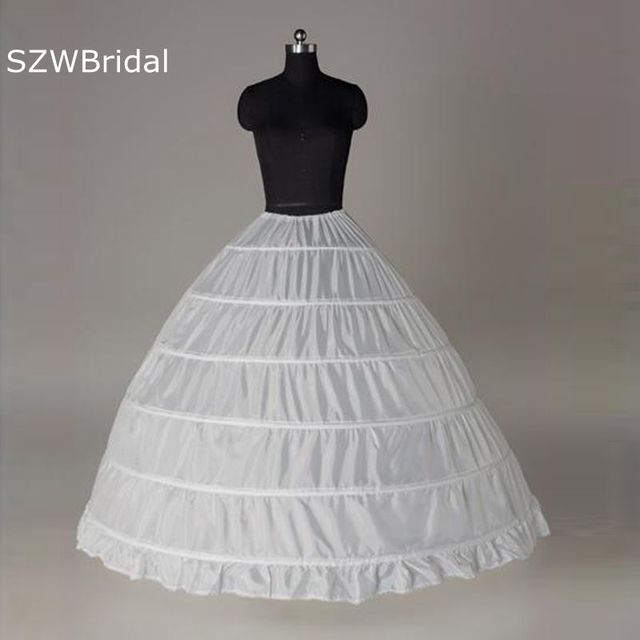 Anagua 2018 Wedding Dress Slip 6 Wire Pannier Plus Size Panniers Ultralarge Puff Skirt