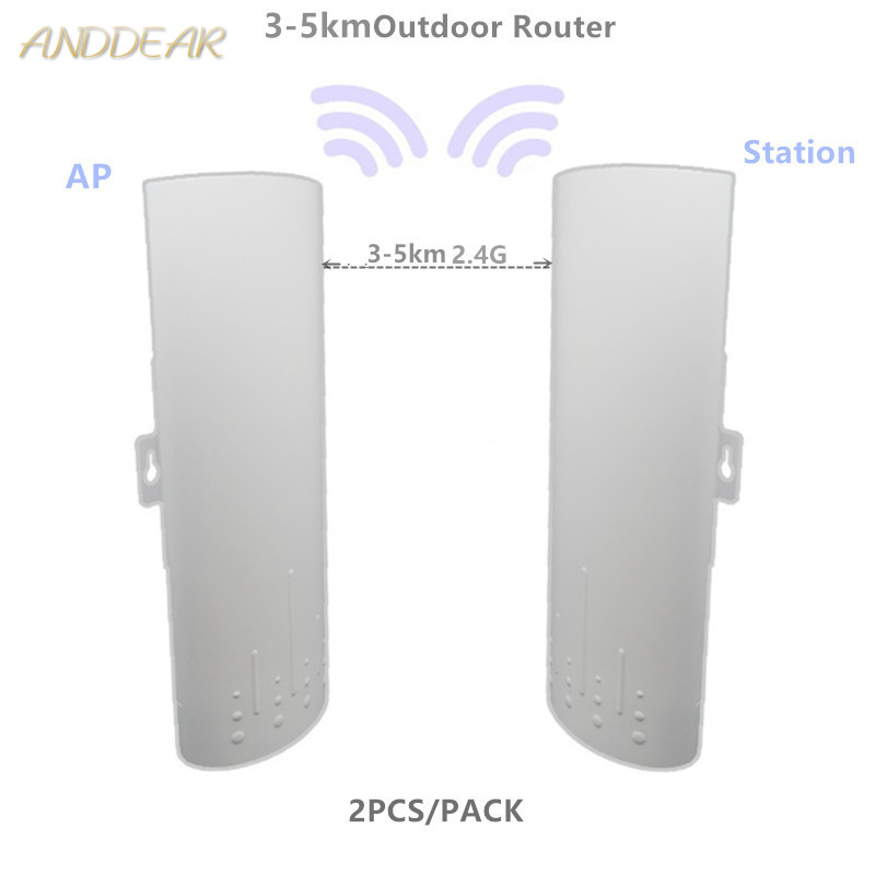9344 9531 220 3-5km Router WIFI Repeater Long Range 300Mbps 2.4ghz Outdoor AP Router  AP Bridge Client Router RepeaterZ