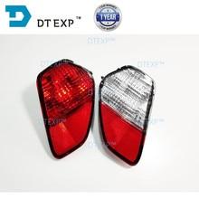 2015-2018 outlander rear bumper lamp airtrek fog no bulb 8337A137 8337A136 Rear Bumper Signal Reflector