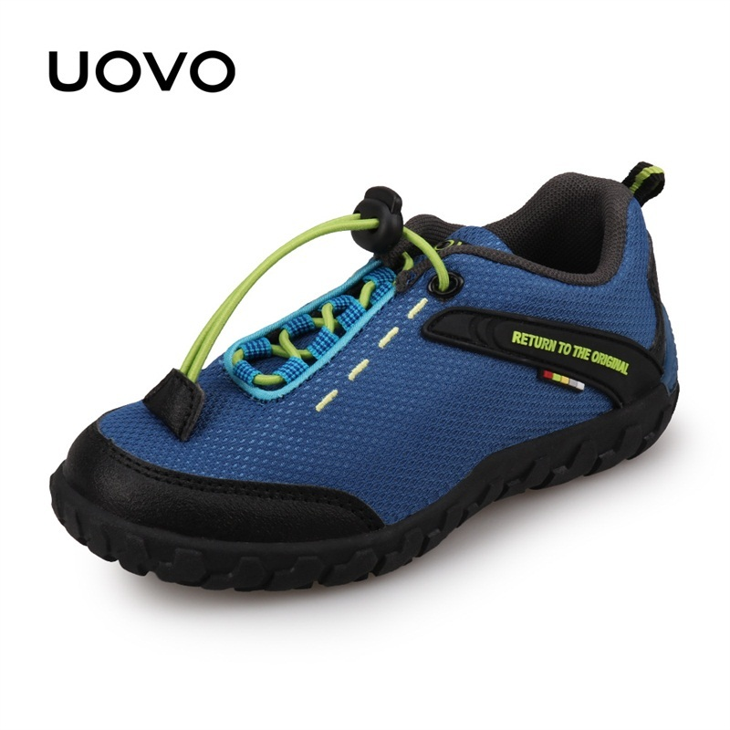UOVO Children Shoes Racing Style Boys Kids Shoes Breathable Shoes for Little Boys & Girls Kids Sneakers Autumn Shoes Eur28-35 2016 new shoes for children breathable children boy shoes casual running kids sneakers mesh boys sport shoes kids sneakers