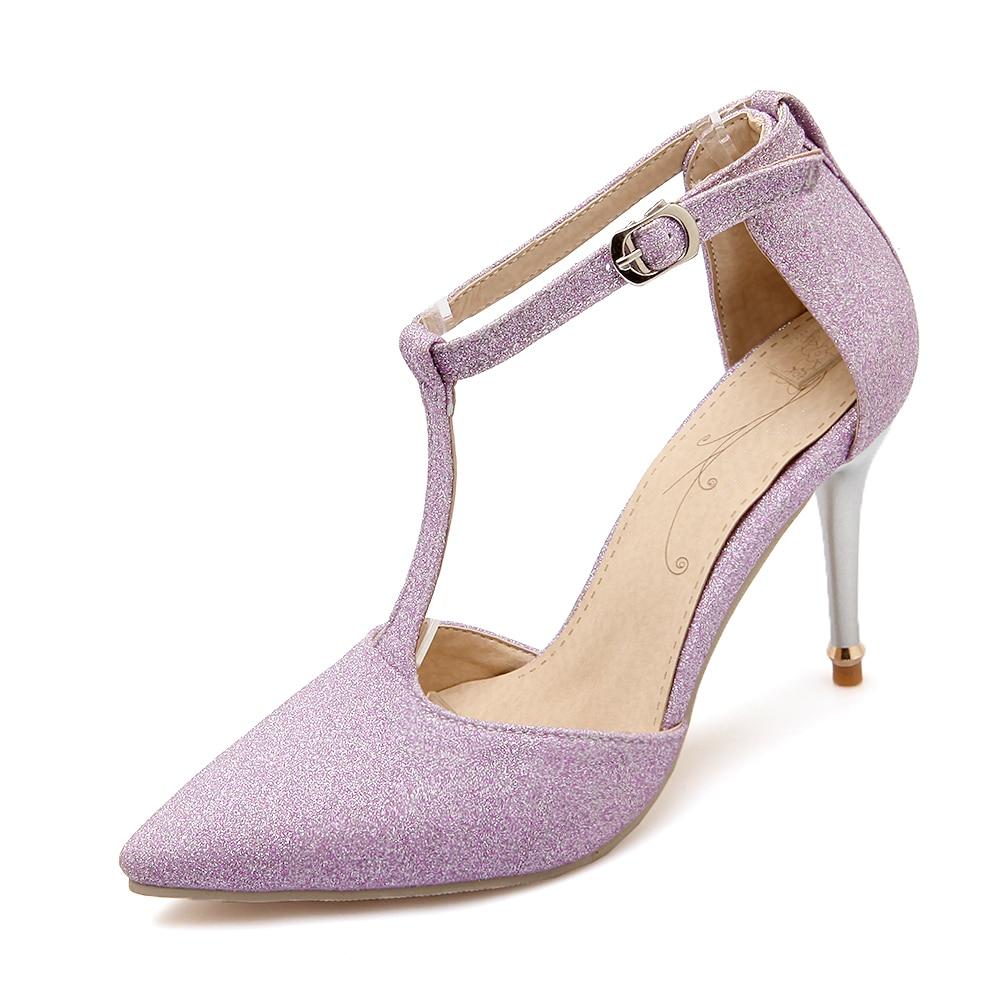 Black nice sandals - New Stylish Women Sandals Nice Thin Heels Sandals Black Silver Gold Purple Nubuck Leather Shoes Woman