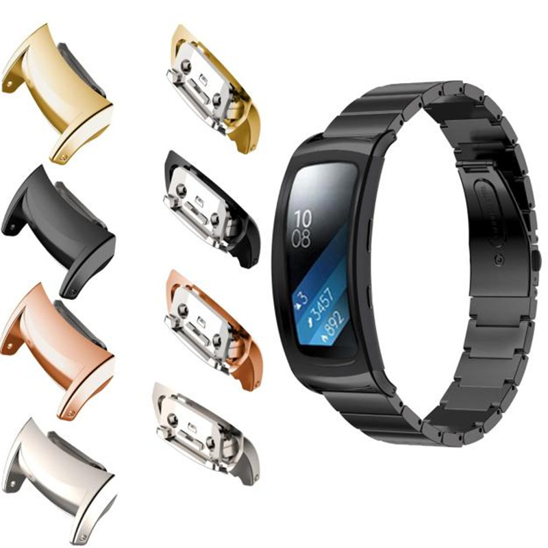 Useful Stainless Steel Connector Connect Watch Band For Samsung Gear Fit 2 SM-R360 Watch Band Connector