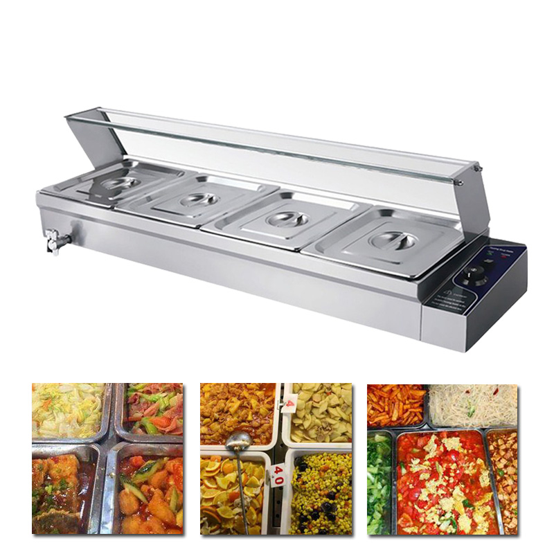 Stainless steel Bain Marie table top electric bain marie buffet food warmer electric food warmer containerStainless steel Bain Marie table top electric bain marie buffet food warmer electric food warmer container