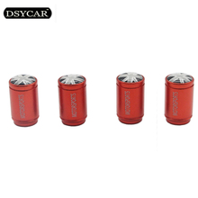 DSYCAR 4Pcs/Lot Universal UK flag Car Moto Wheel Tire Valve Cap covers car styling For bmw mini ford fiat toyota honda VW skoda