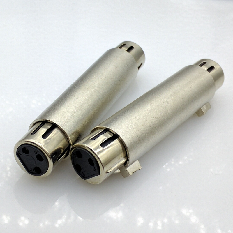 3pin Butt Joint Xlr Connector 3pins Xlr Female To Female