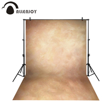 Allenjoy Thin Vinyl cloth photography Backdrop yellow Indoor photography background cloth computer print can customized MH-015 marzona bauhaus photography cloth