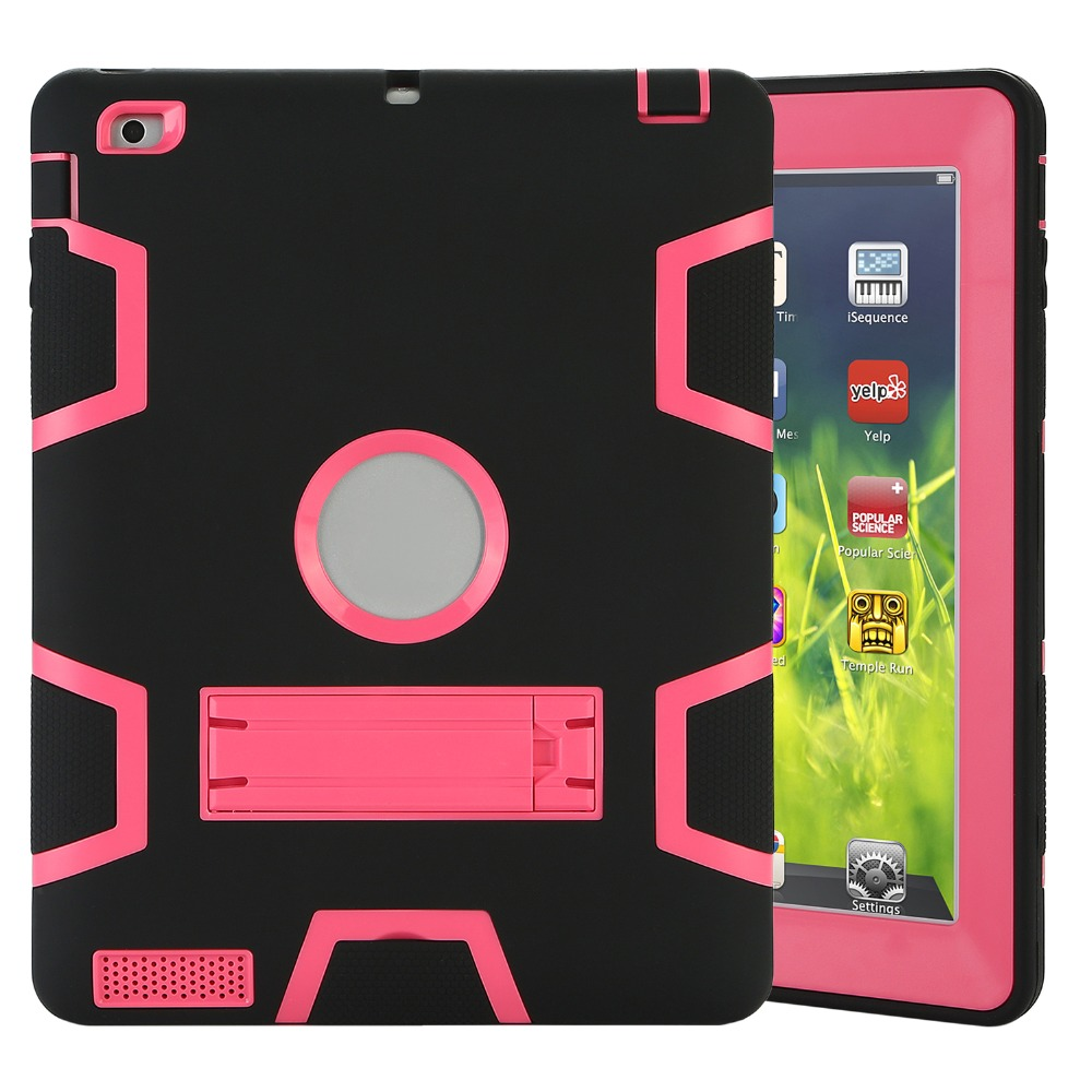 Tablet Case For Apple Ipad 2 3 4 Extreme Heavy Anti Dust Goospery Samsung Galaxy Core Canvas Diary Pink Shockproof Rubber Cover With Stand 360 Full Protect