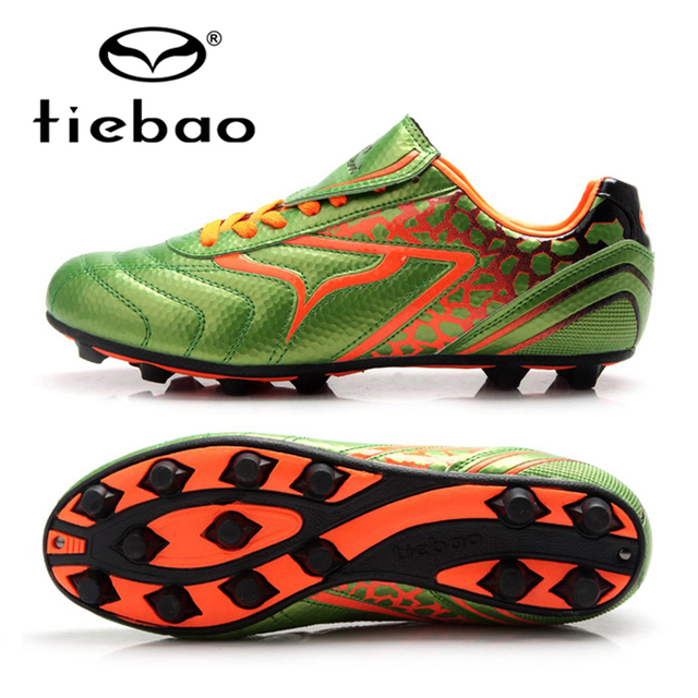 46f1e0f56 TIEBAO Brand Chinese Professional Men Soccer Shoes AG Soles Football Boots  Outdoor Sport Adult Sneakers EUR 39-43