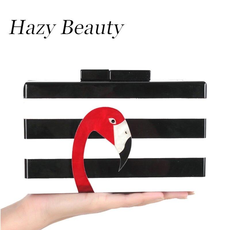 Hazy beauty plastic women animal design elegant handbag book shape easy chic girls party clutch qulify hot lady evening bag a220