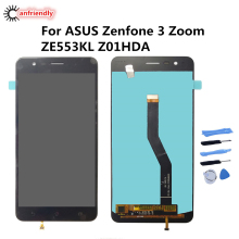 5.5 For ASUS Zenfone 3 Zoom ZE553KL Z01HDA LCD Display+Touch Screen Repair Digitizer Assembly Phone Replacement Glass Panel LCD oa html