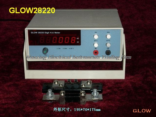 Fast arrival Desktop GLOW28220 4 1/2 digital AC/DC High Current meter High Current tester 400A/500A/1000A/2000A - 2