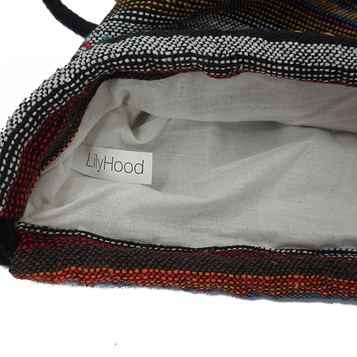 HTB1IVRrlh3IL1JjSZPfq6ArUVXal LilyHood Women Fabric Backpack Female Gypsy Bohemian Boho Chic Aztec Ibiza Tribal Ethnic Ibiza Brown Drawstring Rucksack Bags