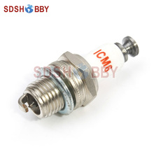 Rcexl CM6 10mm Iridium Spark Plug for Gas Petrol Engine DLE30 DLE55 DLE111 DLA56 DLA32 DLA112
