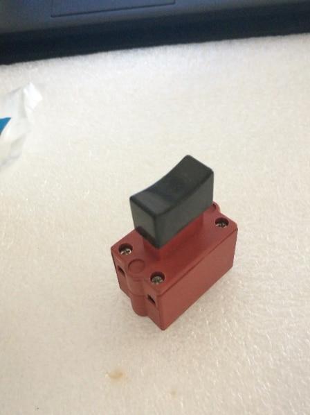 FA4-10/2D DPST NO Electric Power Tool No Lock Trigger Switch power tool push lock button trigger switch dpst dual pole ac250v 6a