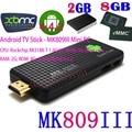MK809III Quad Core RK3188 Smart Android TV Stick TV Box 2GB 8GB Bluetooth WIFI XBMC KODI HD Mk809III Mini PC Dongle