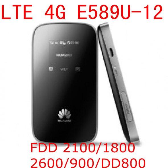Débloqué Huawei E589 E589u-12 LTE 4g wifi routeur mobile hotspot 4g lte mifi dongle sans fil routeur pk e5372 e3276 e5776 e392