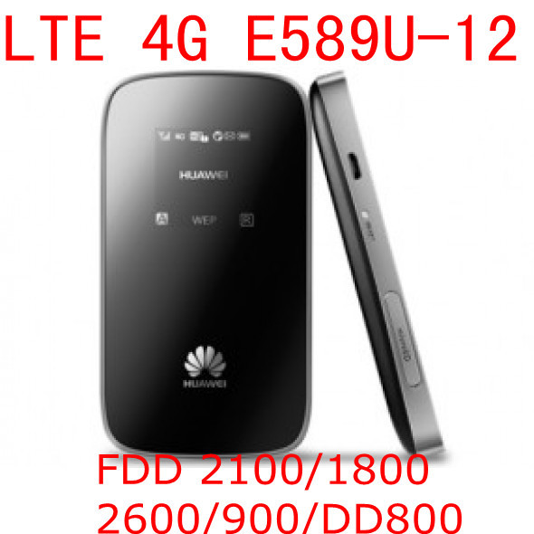 Unlocked Huawei E589 E589u-12 LTE 4g wifi router mobile hotspot 4g lte mifi dongle wireless router pk e5372 e3276 e5776 e392