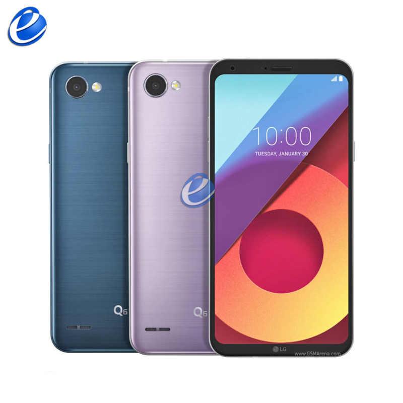 Оригинальный разблокированный мобильный телефон LG Q6 X600, 5,5 дюймов, 4G LTE, Android, четыре ядра, 13 МП, 5 МП, 3 Гб ram, 32 ГБ rom, wifi, мобильный телефон
