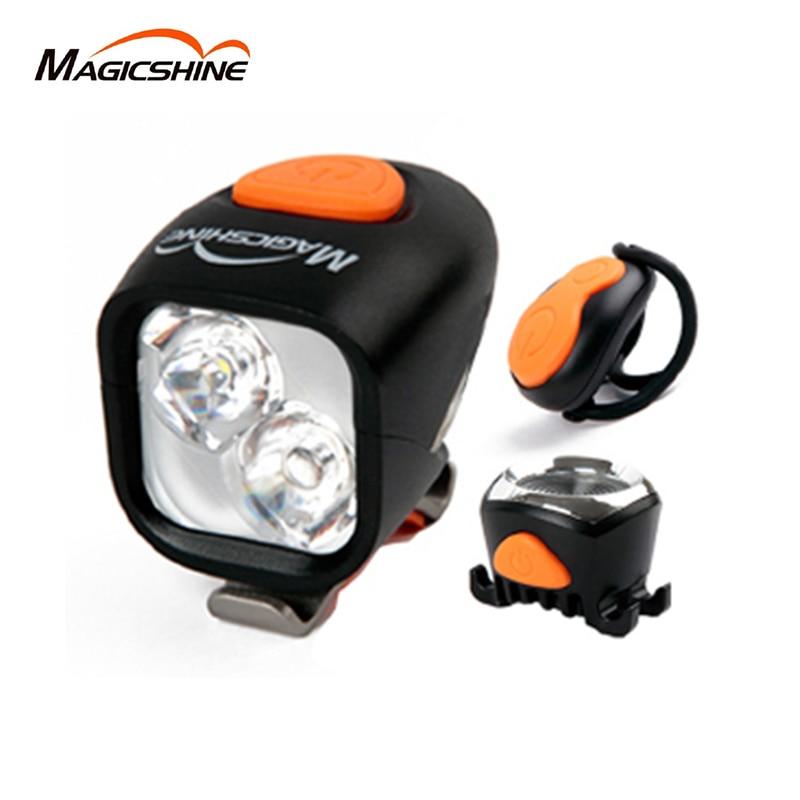 Magicshine Vélo Vélo Vélo Led Lampe de Poche Avant Guidon Vélo Étanche Led Lumière Rechargeable 1200LM Arrière Lumière