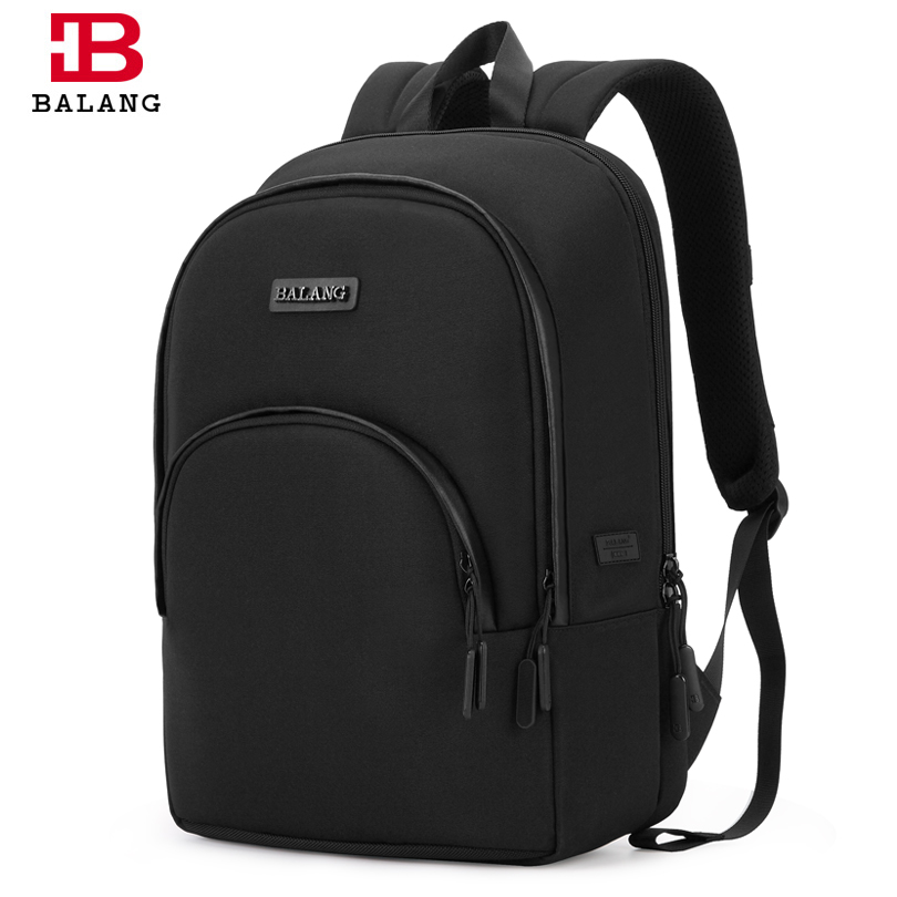 BALANG Brand 14.5 inch Laptop Backpack for Women Men School Bags with USB Charging Hole Boys and Girls Waterproof Travel Mochila balang brand school backpack for teenagers boys girls large capacity travel backpack for men 15 6 inch laptop waterproof bags