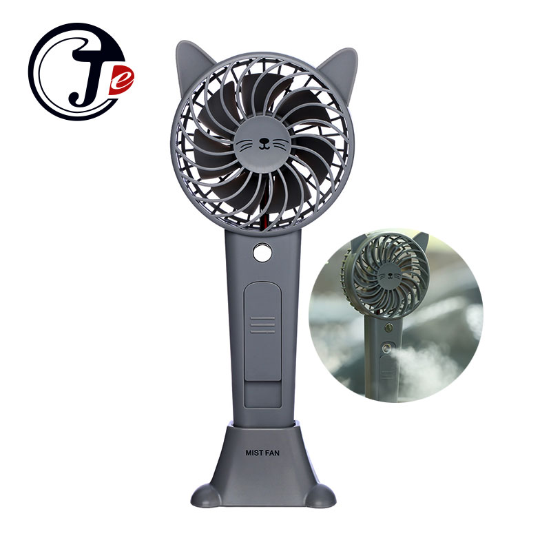 Heldhand Animals Air Cooler Chargeable USB Fan with 1200mA Rechargeable Battery Portable Mist Fans Air Conditioner Home Outdoor handheld cartoon mini fan usb portable fan for home outdoor desk rechargeable air conditioner with 1200ma rechargeable battery
