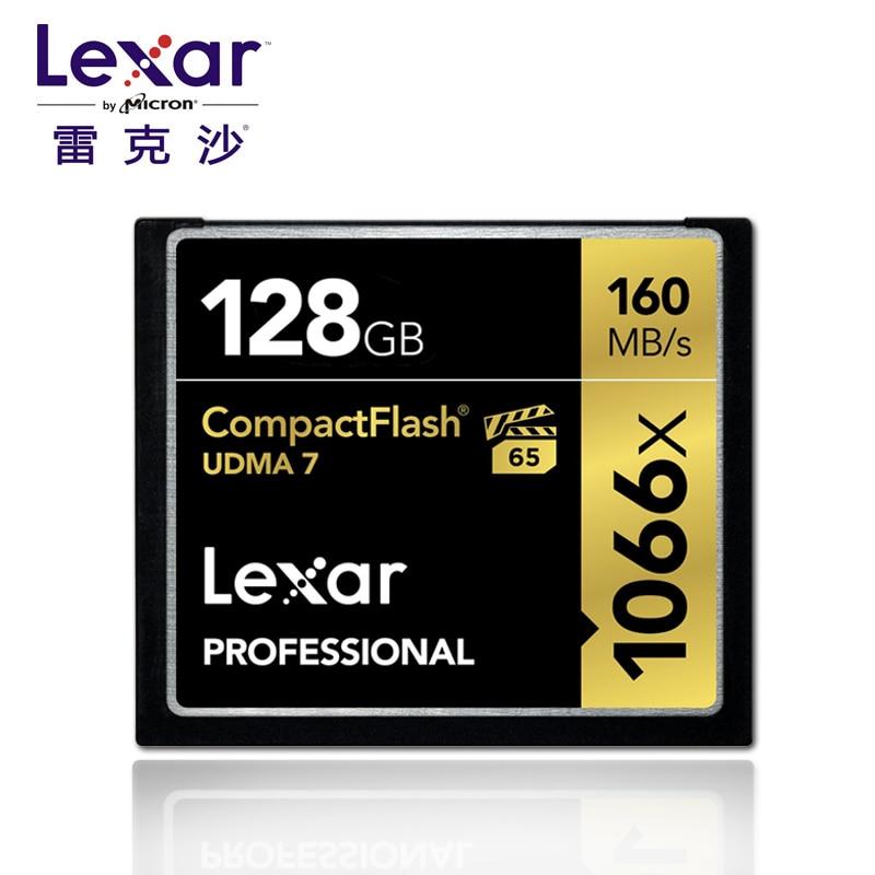 Original!!! Lexar Professional 128GB 64GB 32GB Compact Flash 160MB/s CF Memory Card 1066x UDMA7 VPG-65