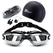 Swimming goggles adult geogle myopia Professional 5 in 1 swi