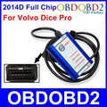 Лучшее Качество Для VOLVO DICE PRO 2014D Полный Чип Multi-языки Обновление Прошивки и Самодиагностики J2534 Протокол для Volvo Vida Dice