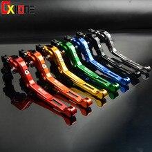 7 Styles CNC Adjustable Folding Extendable Brake Clutch Lever For Suzuki DR650S DR650SE DR 650 DR650 S SE 1994-2010 2009